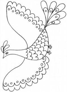 """Színező """"madár a boldogság"""", hogy töltse le és nyomtassa ki ingyen"""