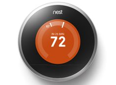 The Nest Learning Thermostat is a must have for high-tech homeowners or anyone looking to save on heating and air conditioning costs through interactive programming and online management. [4.5 out of 5 stars]
