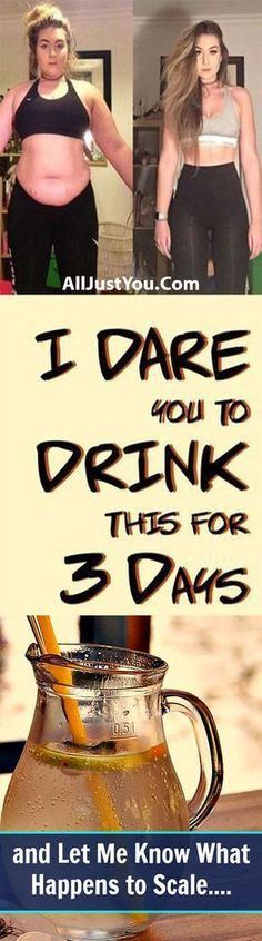 This dare challenge is for all those who think that they cannot lose weight by drinking cleansing water having all natural ingredients. The dare is very simple and straight forward. You drink this … loose weight 10 pounds Healthy Drinks, Get Healthy, Healthy Life, Healthy Living, Three Day Cleanse, Meals For Three, Three Days, Bebidas Detox, Cleanse Your Body