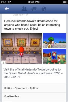 This is Nintendo's town. If you track down Wendle in this town you can take home Nintendo designs. You can get more than 1. Enjoy ;)