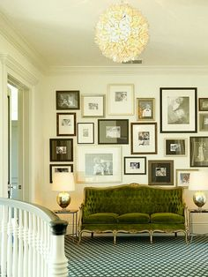 Why You Should be Afraid of Eclectic Gallery Art Walls - laurel home | beautiful art wall by Ken Fulk