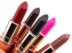 Makeup Revolution Rose Gold Lipsticks