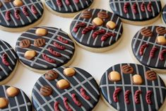 BBQ Grill cookies made for father's day Summer Cookies, Fancy Cookies, Cut Out Cookies, Holiday Cookies, Cupcake Cookies, Halloween Cookies, Cupcake Toppers, Sugar Cookie Royal Icing, Iced Sugar Cookies