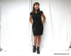 The little black dress 60s style mini mod by frenchvintagedream