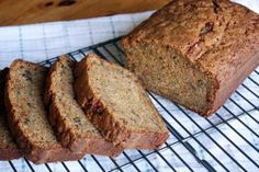 Sweet Potato Zucchini Bread. Pinning to use up that sweet potato that's been sitting in the back of the fridge.