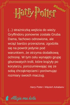 Harry Potter i Więzień Azkabanu - najlepsze fragmenty, najzabawniejsze cytaty | Trolle i ich maczugi #HarryPotter #cytat #cytaty #książki Harry Potter Humor, Harry Potter Magic, Harry Potter Facts, Neville Longbottom, Harry Potter Wallpaper, Harry Potter Pictures, Fanfiction, Kitchen Ideas, Marvel