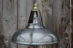 Vintage antique zinc coolicon ceiling light by mjknobsandknockers Ceiling Rose, Ceiling Lights, Hanging Wire, Kitchen Lighting, Decorative Bells, Vintage Antiques, Bulb, Industrial, Lamps