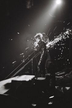 Gas masks, guns and Misfits: the punk photography of David Arnoff