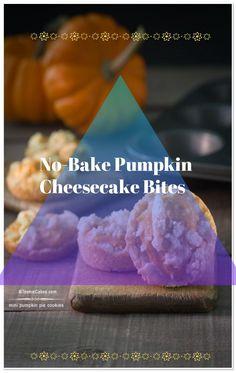 No Bake White Chocolate Pumpkin Bites - Tastefulventure #pumkin #pumkinpie #usa #hallowen #pumpkinnobake #nobake