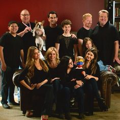 "Modern Family cast  It is a shame that ""Alex"" is not looking"