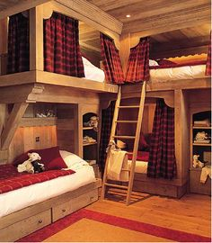 Chambre enfant - kids' bedroom - chalet - cottage