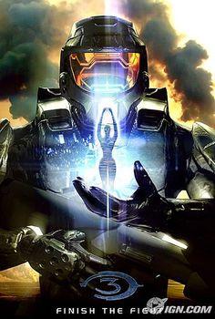 Cortana and master chief