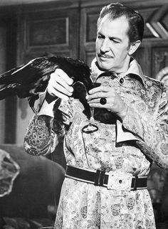 I absolutely LOVE Vincent Price...R - Vincent Price in 'The Raven' (1963)