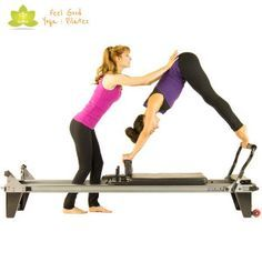 Pilates Reformer Exercise Directory