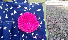 Preciosa bolsa de pañales en Marina del pájaro y por sassypies