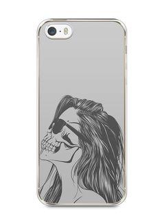 Capa Iphone 5/S Mulher Caveira - SmartCases - Acessórios para celulares e tablets :)