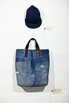 fantastic patched/mended denim bag Blog | Darn And Dusted