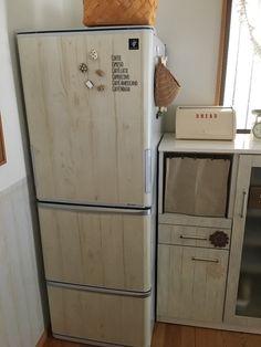 冷蔵庫を自分好みにリメイク*リメイクシートを使ってイメチェンしよう! LIMIA (リミア)