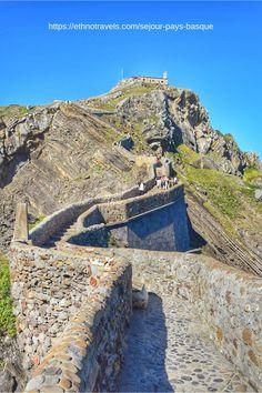 San Juan de Gaztelugatxe Basque Country Game of Thrones – Travel and Tourism Trends 2019 Europe Travel Tips, Travel Destinations, Responsible Travel, Basque Country, Sea And Ocean, France Travel, Thailand Travel, Beach Trip, Solo Travel