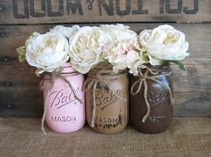 Hey, I found this really awesome Etsy listing at http://www.etsy.com/listing/162553174/mason-jars-ball-jars-painted-mason-jars