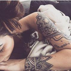 Image result for womens tattoo yoga shoulder