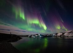 Three days and nights at the Glacier Lagoon in South Iceland is something you should try! Day For Night, Three Days, Aurora Borealis, Iceland, Northern Lights, Nature, Travel, Beautiful, Naturaleza