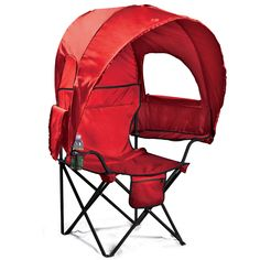 Camp Chair with Canopy | Patio Furniture | Brylanehome