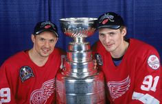 June 16, 1998 - With a 4'1 victory over the Washington Capitals at the MCI Center in the District of Columbia, the Detroit Red Wings completed back-to-back sweeps of the Stanley Cup finals. Steve Yzerman was named series MVP.