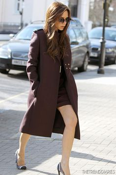 Victoria Beckham out in London, England - March 5, 2013