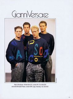 Gianni Versace Vintage Collection & more details
