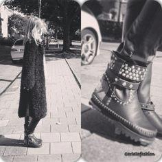 Karma of Charme boots & Kiro by Kim cardigan . All handmade.. have a look At Facebook : carlala fashion & karmaofcharmeboots