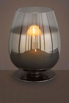 Buy Chrome Ombre Candle Holder from the Next UK online shop