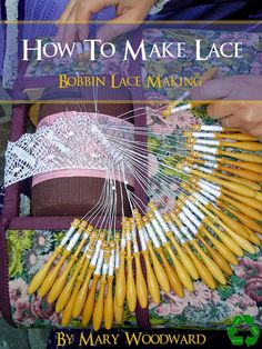 Bobbin lace-roller pillow set up with torchon pattern and working Irish Crochet, Crochet Lace, Freeform Crochet, Made By Mary, Bobbin Lacemaking, Bobbin Lace Patterns, Tatting Patterns, Linens And Lace, Needle Lace