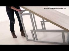 MESA TRANSFORMABLE - YouTube