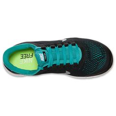 Nike Free 3.0 V5 Mens Black White Sport Turquoise 580393 014 #cheap