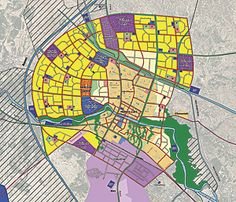 This is a typical Nasiriyah City Master Plan sheet.