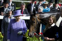 Queen Elizabeth II Photos - Queen Elizabeth II with her horse Estimate after winning the Queen's Vase during Royal Ascot at Ascot racecourse on June 2012 in Ascot, England. - Royal Ascot - Day Four