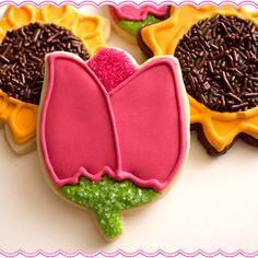 Flower Cookies (Tulips