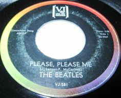 1963 45 Rpm The Beatles PLEASE PLEASE ME / FROM ME TO YOU On Vee Jay 581.. So much has been said and written about the Beatles -- and their story is so mythic in its sweep -- that it's difficult to summarize their career without restating clichés that have already been digested by tens of millions of rock fans.