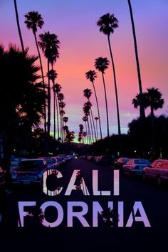 I want to go to California.