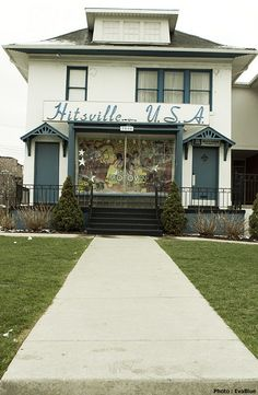 Motown Studios, who would think such a humble looking small converted home in Detroit, Michigan. would bring so much great singers and unforgettable life changing music