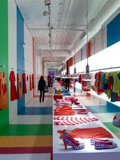 Visual Merchandising | Display: Retail Design | Shop Design | Fashion Store Interior Fashion Shops | Agatha Ruiz's clothes_NY