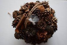 Decoratiuni toamna-iarna, Aranjament conuri brad Herbs, Food, Essen, Herb, Meals, Yemek, Eten, Medicinal Plants