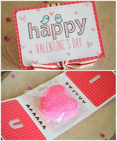 Lawn Fawn Video {2.6.14} A Valentine candy gram