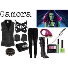 """Gamora"" by morgan-graves on Polyvore"