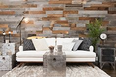 Artis Wall™ | Bring the rustic-chic look you see all over design media to your home in a simple and smart way. Not only can you transform your plain walls into beautiful focal points, but Artis Wall™ can also be used in a variety of locations and rooms around the house. All this in a project that can be done in m...