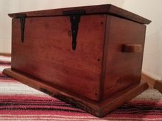 Cabin Cedar Lined Chest www.toddsrusticcreations.com