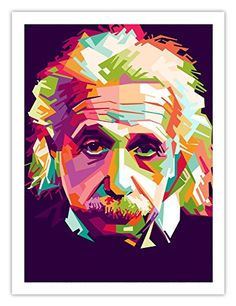Einstein Pop Art Poster premium print unframed 18x24 inches >>> Be sure to check out this awesome product.Note:It is affiliate link to Amazon.