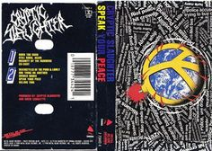 Cryptic Slaughter - Speak Your Peace: buy Cass at Discogs