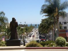 San BuenaVentura, Ca. My favorite place. From the Courthouse looking into downtown.